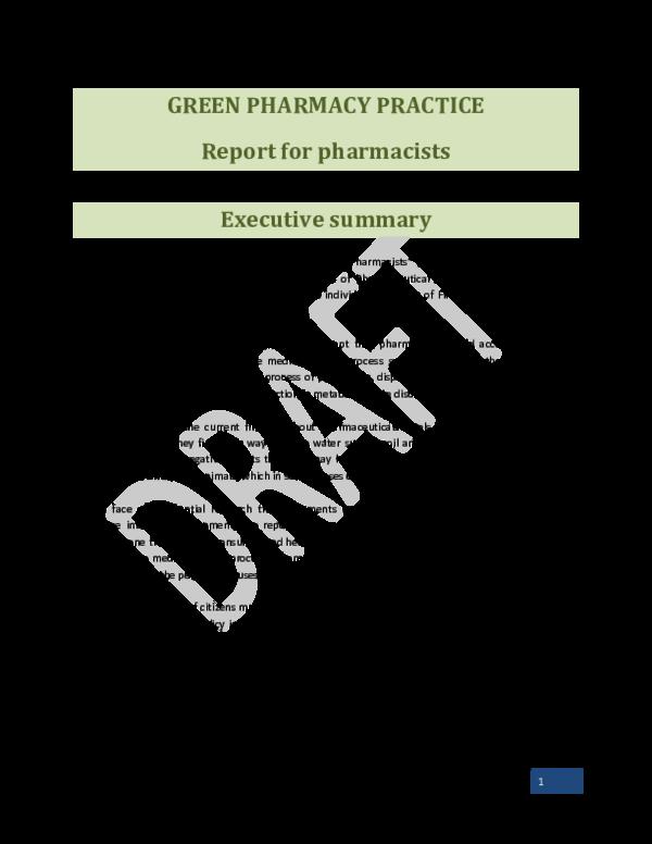 PDF) Draft document GREEN PHARMACY PRACTICE   Myrrhe