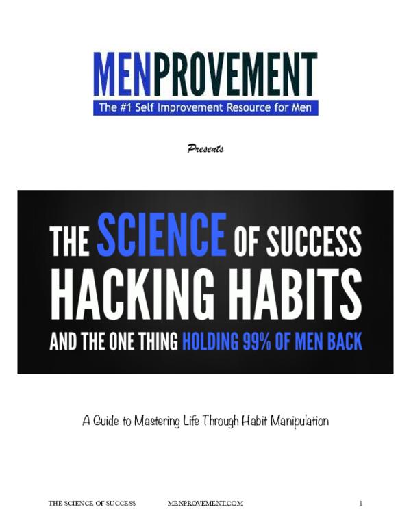 Science Of Success Pdf