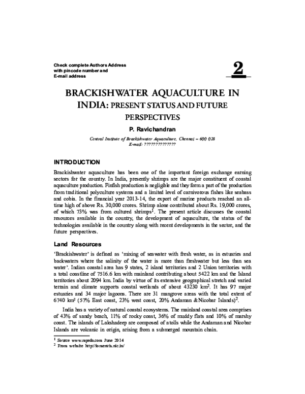 PDF) P Ravichandran | Ravichandran CAA - Academia edu