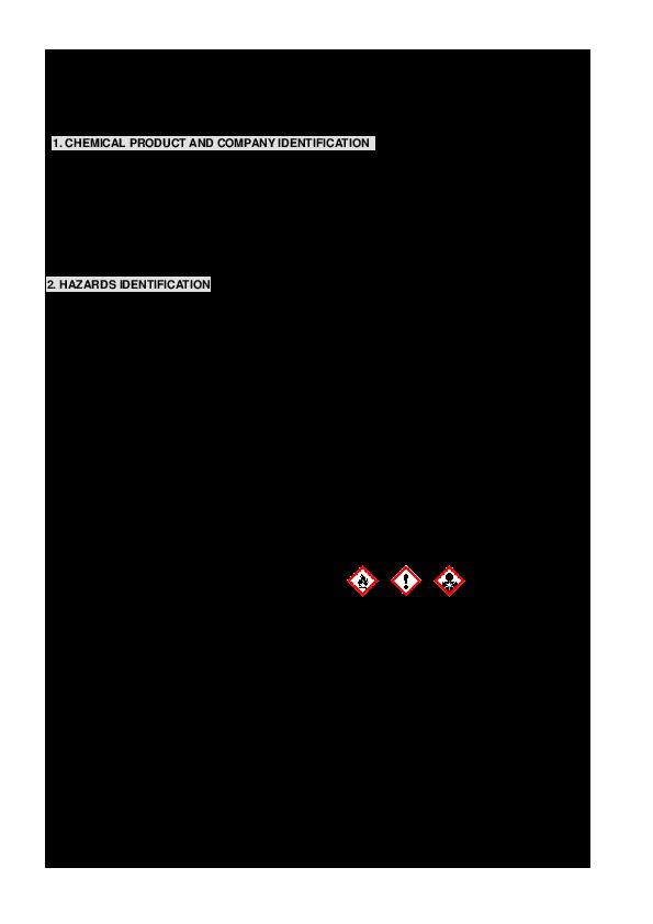 Pdf Material Safety Data Sheet Bao Nguyen Quoc Academia Edu