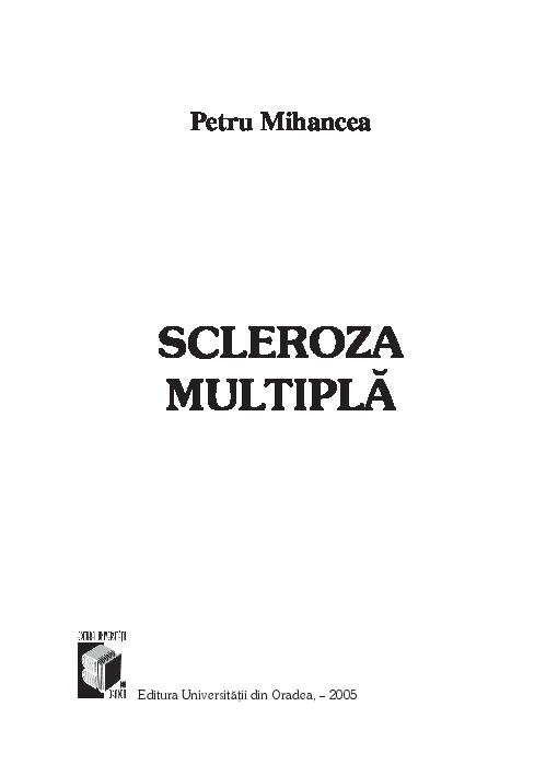 Scleroza multipla | zemcenter.ro