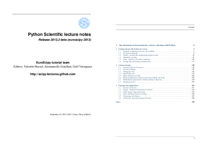 PDF) Python Scientific | Gaurav Pathak - Academia edu