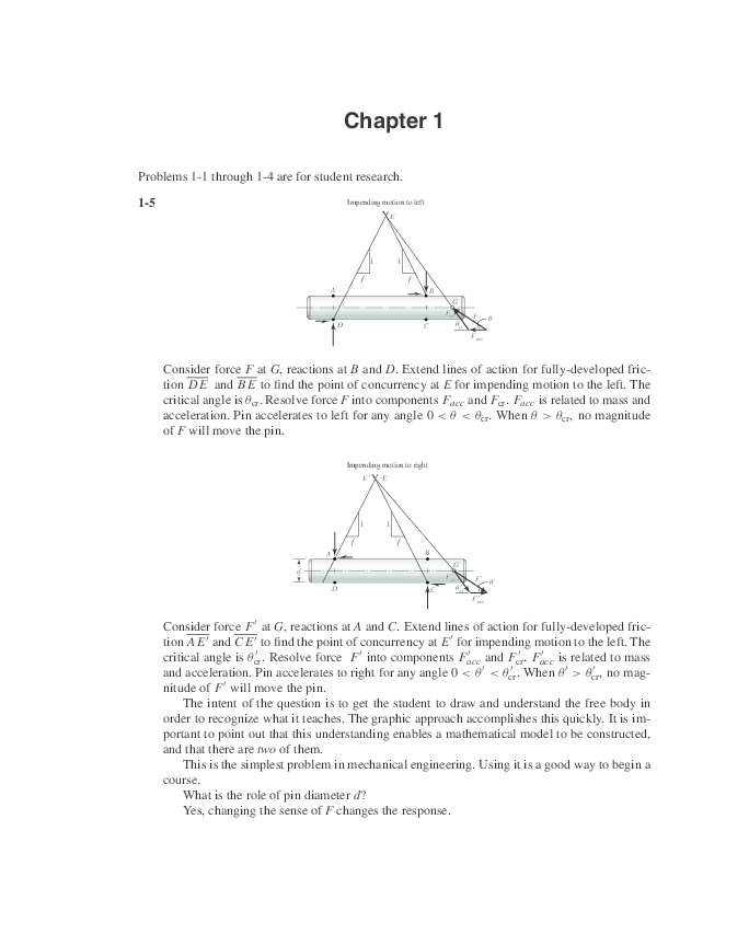 Pdf Shigley Mechanical Engineering Design Solutions Manual 2001 Leonardo Riguerra Academia Edu