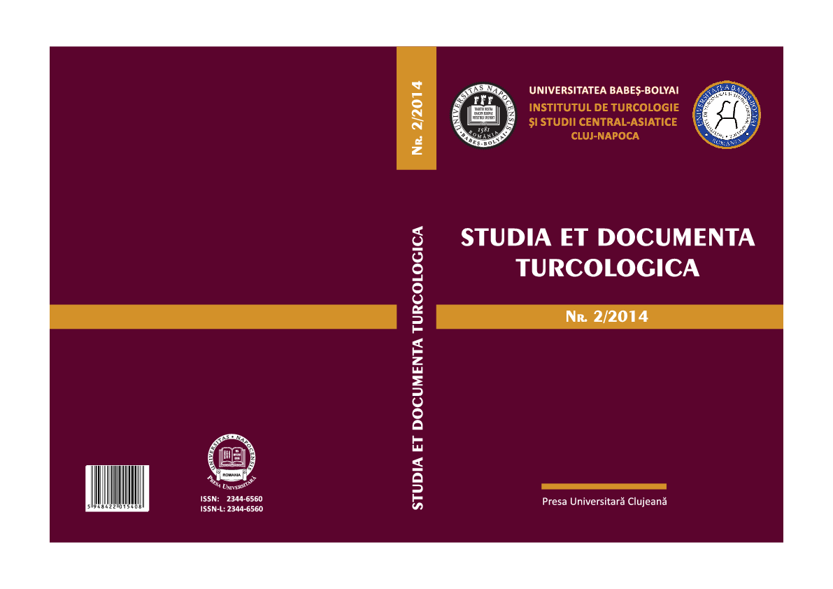 Studia et Documenta Turcologica, 2 2014   Tasin GEMIL - Academia.edu eec94e17add
