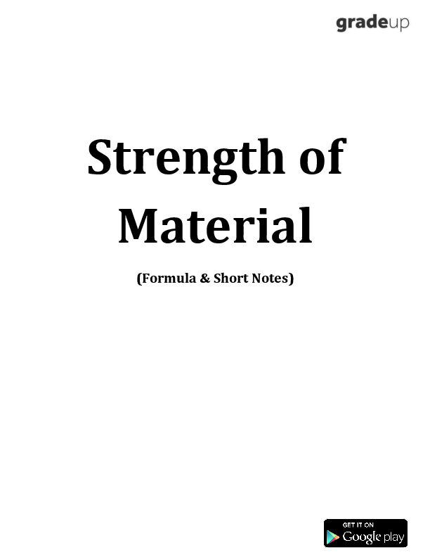 PDF) Strength of Material Formulas Short Notes | Kiran Hatti