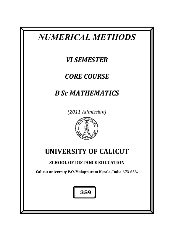 Introductory Methods Of Numerical Analysis Ss Sastry Pdf