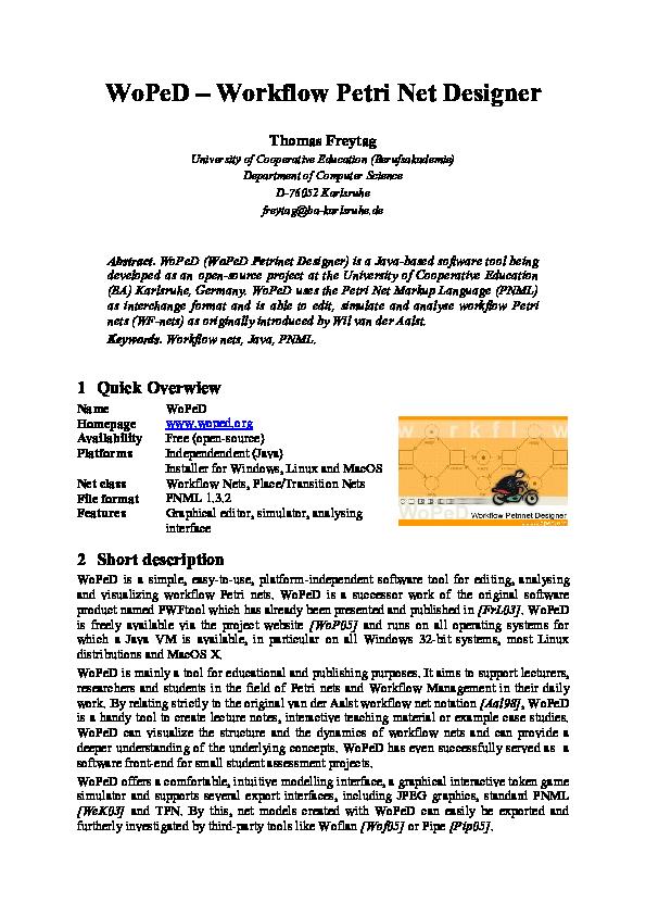 Open Source Workflow Designer