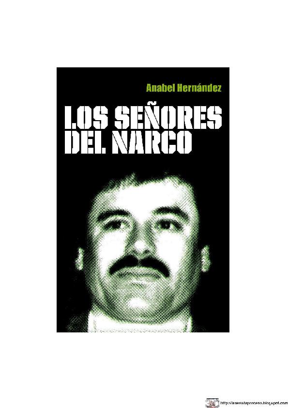 Pdf Los Senores Del Narco 1 Juan Huert Academia Edu