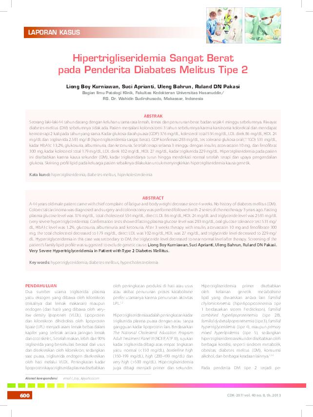 diabetes mellitus pdf adalah seorang