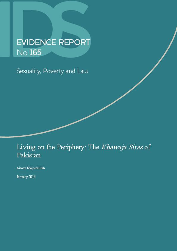 PDF) Living on the Periphery: The Khawaja Siras of Pakistan