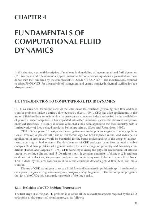PDF) FUNDAMENTALS OF COMPUTATIONAL FLUID DYNAMICS | Ghani