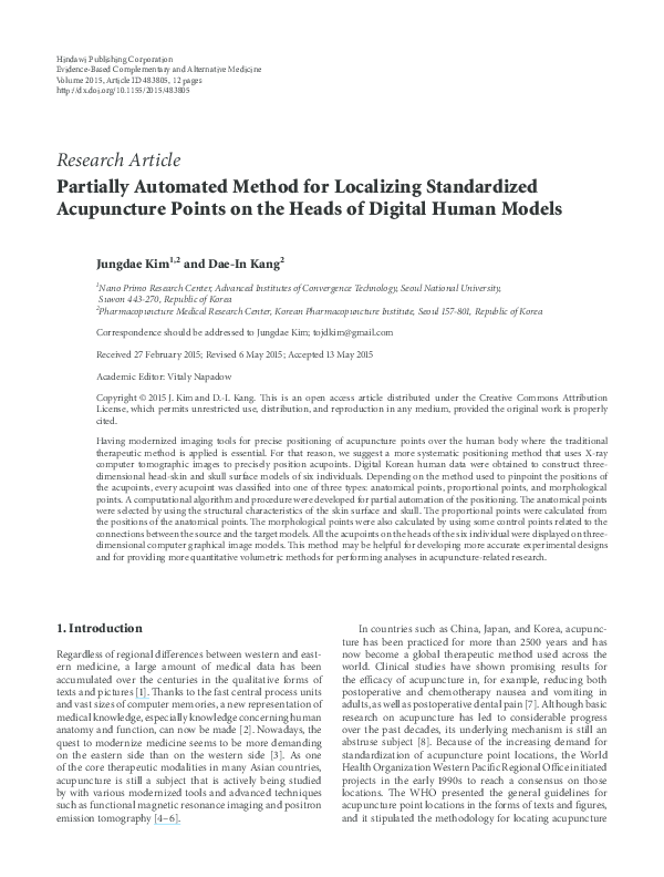 PDF) Partially Automated Method for Localizing Standardized