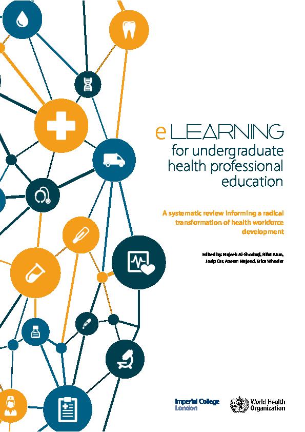 PDF) eLearning for undergraduate health professional