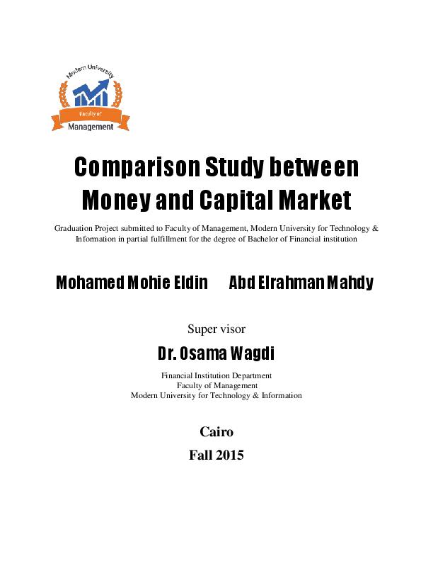 Money And Capital Markets Pdf