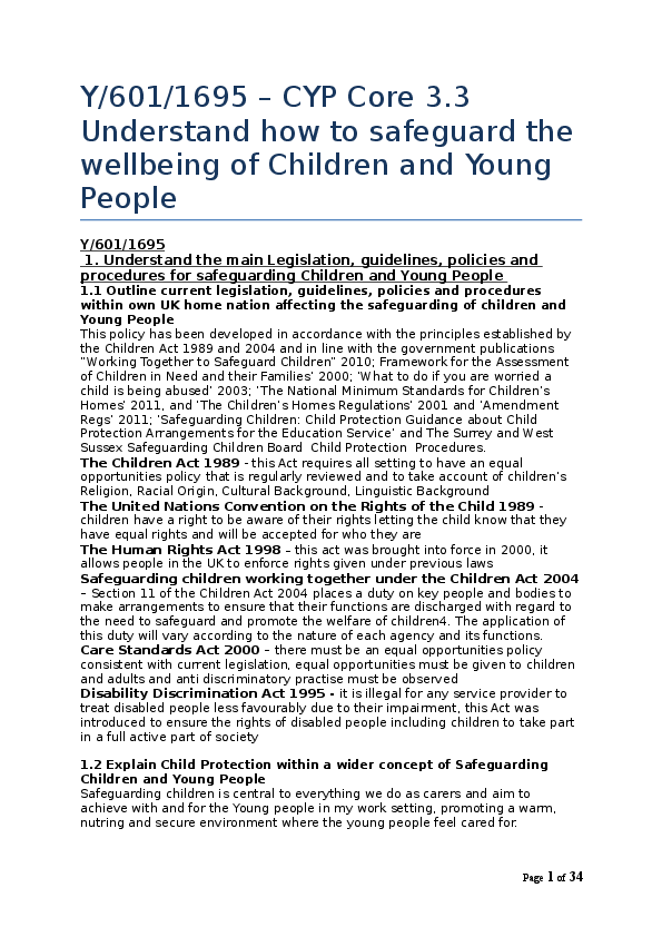 how to support childrens well being