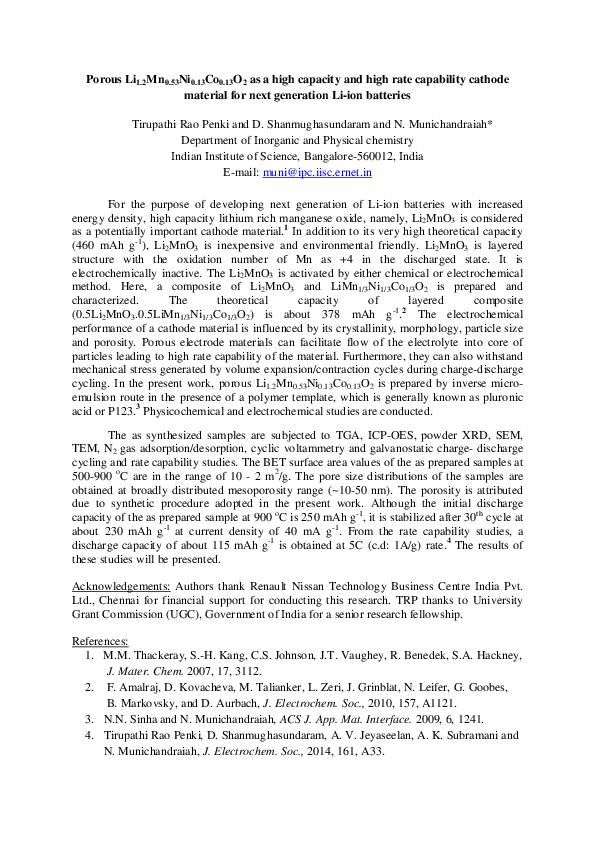 PDF) Penki -BU Abstract   Penki Tirupathi Rao - Academia edu