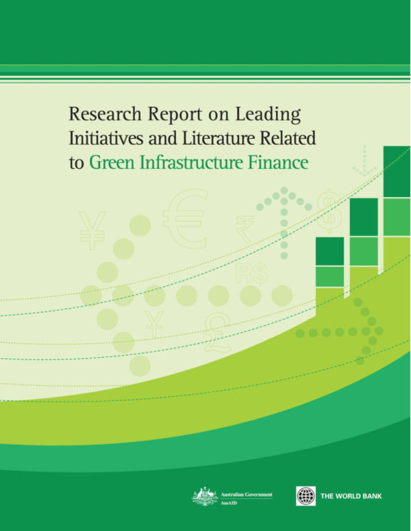 PDF) Green Infrastructure Finance: Leading Initiatives and Research