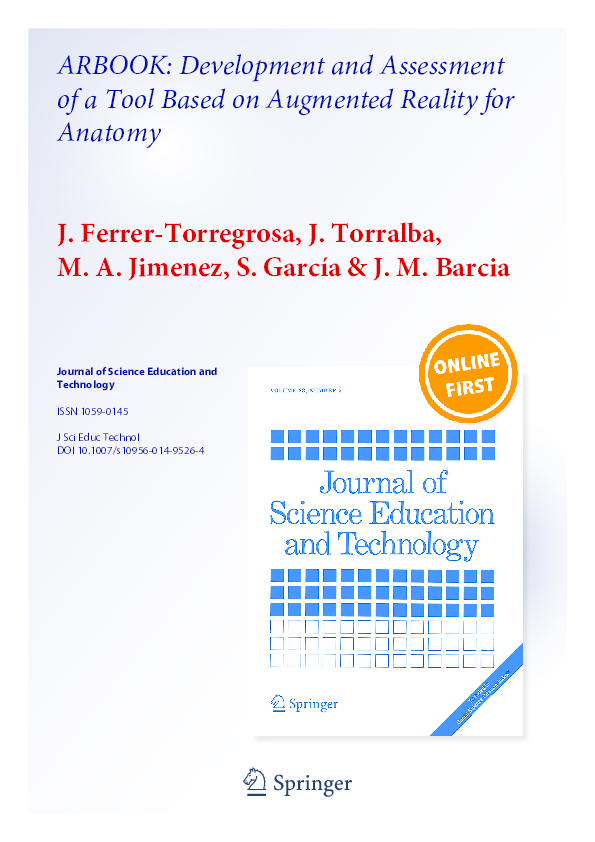 f6e23bb49184 PDF) ARBOOK  Development and Assessment of a Tool Based on Augmented ...