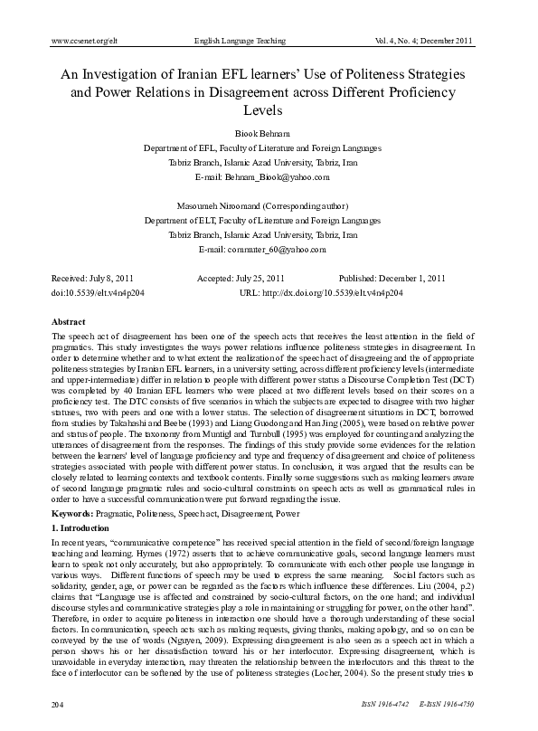 Persian Vocabulary