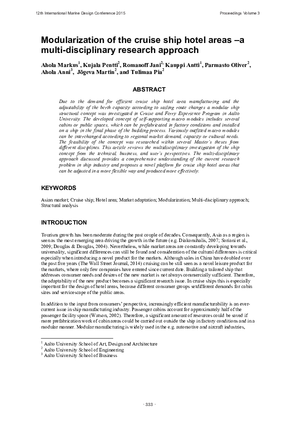 oliver parmasto thesis