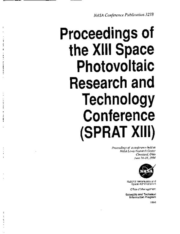 PDF) Status of flexible CIS research at ISET | Bulent Basol