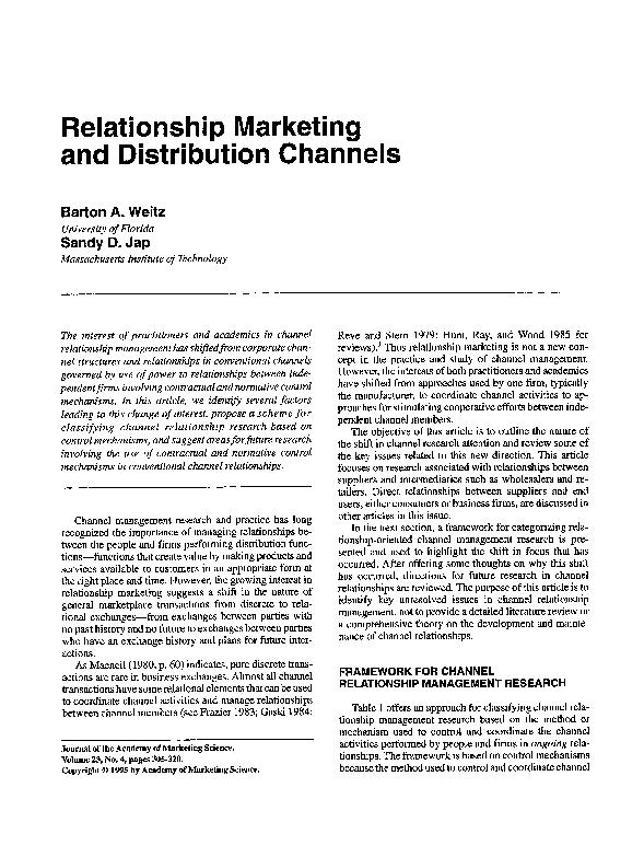 Marketing Channels Pdf