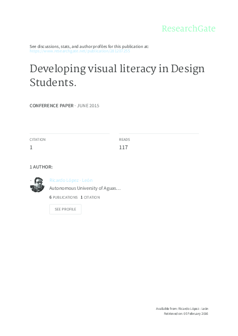 23aef9ded009b PDF) Time-Based Visual Narratives for Design Education