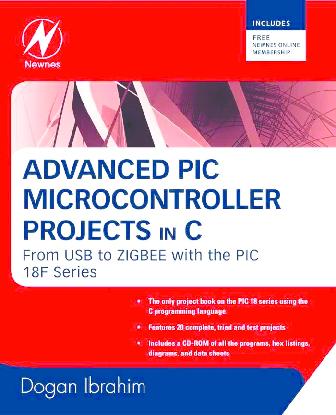 PDF) Advanced PIC Microcontroller projects in C | Rodolfo Tejeda