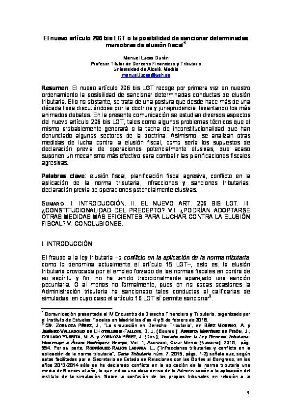 Declaración de impots de simulación 2020