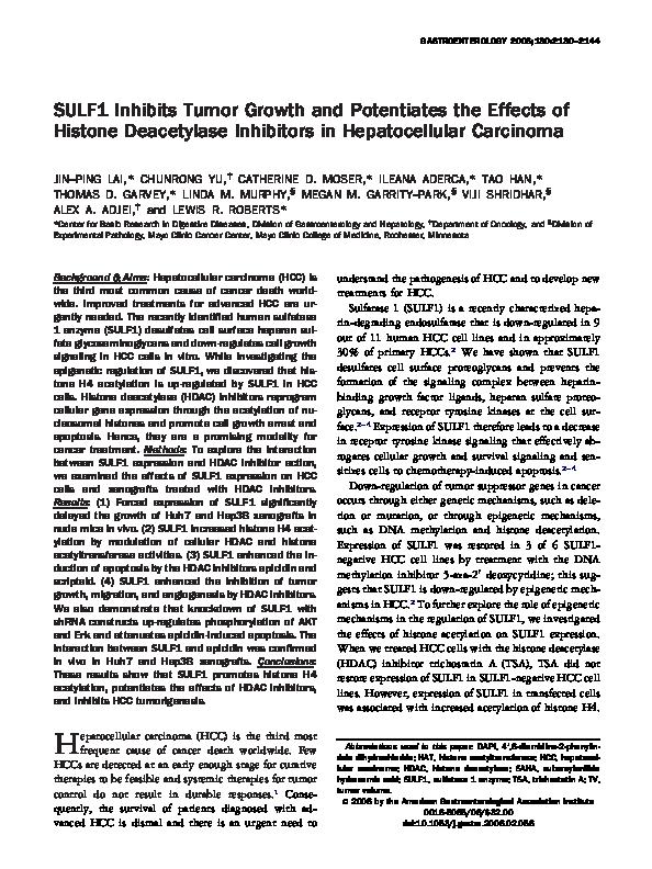 (PDF) Thymoquinone inhibits tumor angiogenesis and tumor