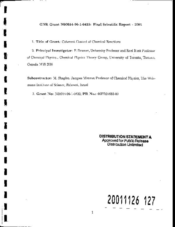 PDF) Multiarrangement photodissociation calculations