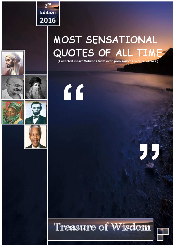 pdf treasure of wisdom the most sensational quotes of all time