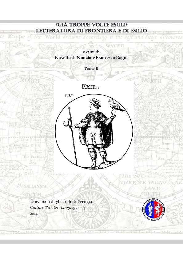 PDF) L esilio e la patria sognata in Mediterraneo di Eugenio Montale ... 39db9077158