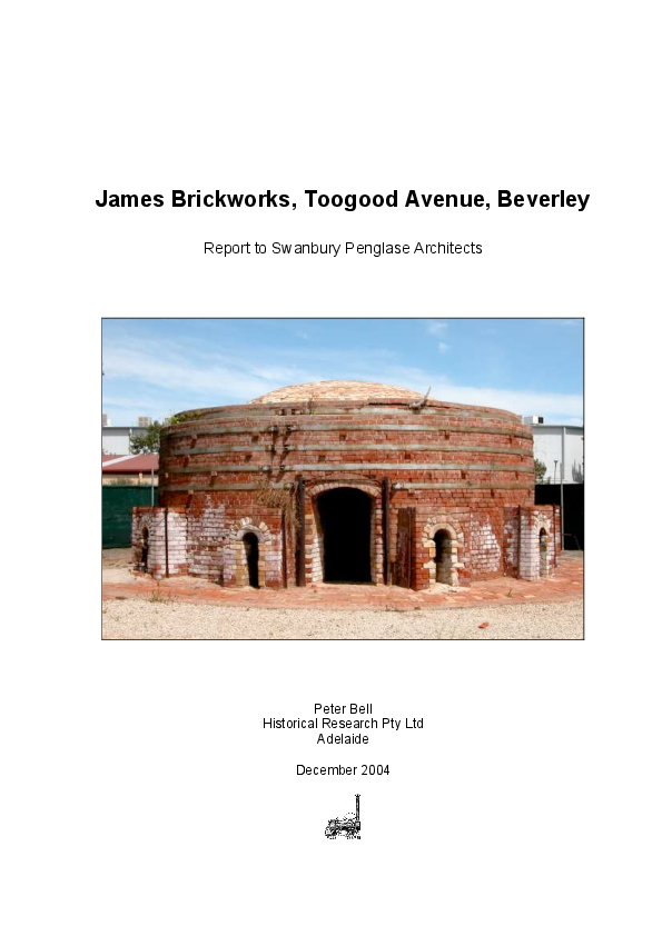 PDF) History of James Brickworks, Beverley, South Australia