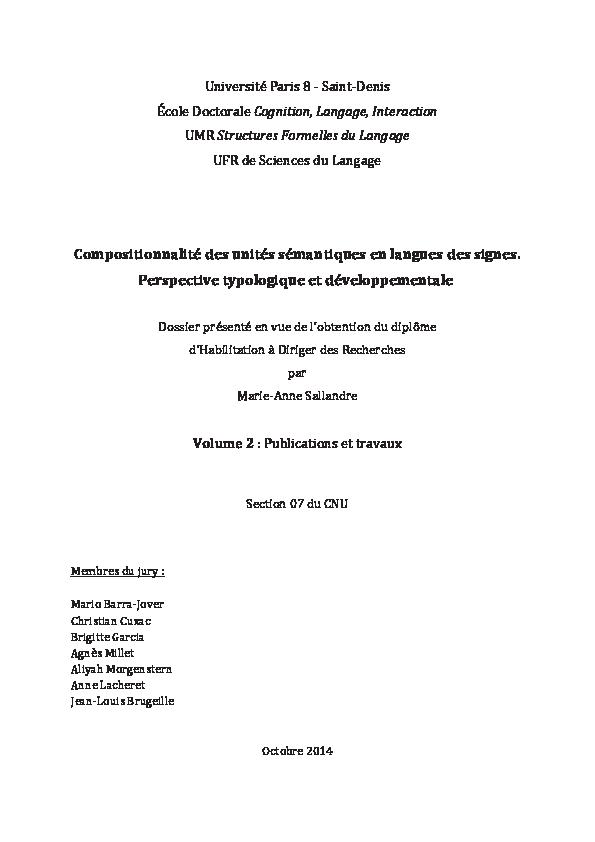 Pdf Hdr Sallandre M A 2014 Volume2 Travaux Publications