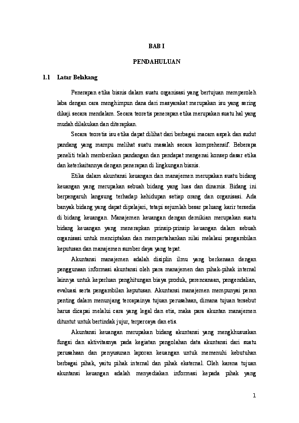 Doc Makalah Etika Bisnis Dan Profesi Chardyla Via Academia Edu