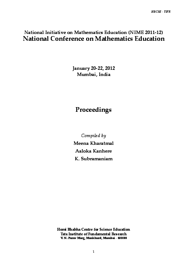 PDF) Students' Solving Processes of Linear Equations at
