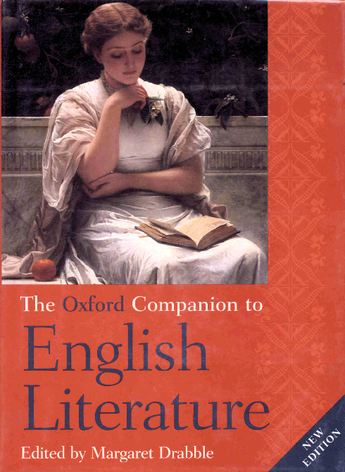 The Oxford Companion To English Literature Margaret Drabble Alisa