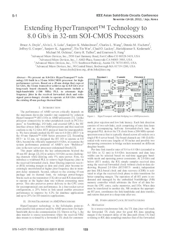 PDF) Extending HyperTransport™