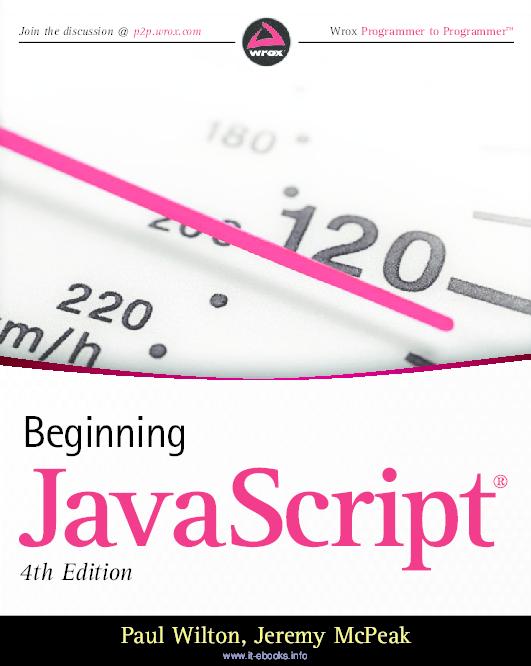 PDF) Beginning JavaScript | Kiên Nguyễn - Academia edu