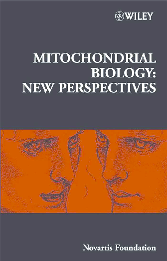 Mitochondrial Biology: New Perspectives: Novartis Foundation Symposium 287