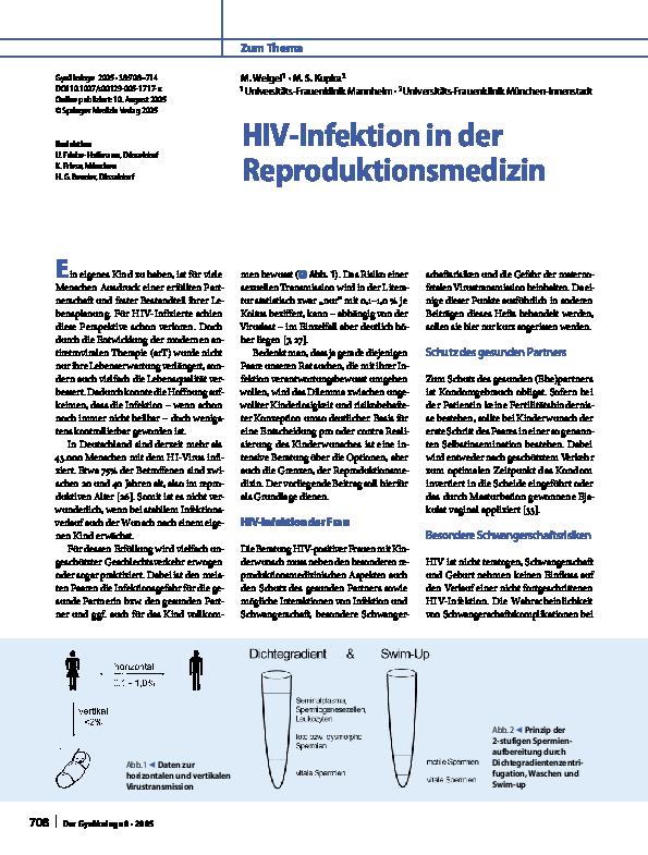 wahrscheinlichkeit hiv infektion frau