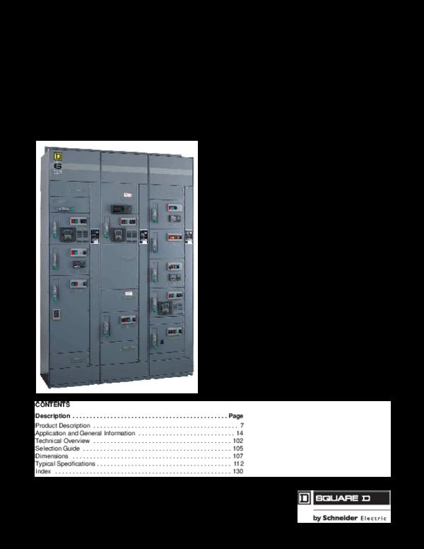 PDF) Model 6 Motor Control Centers | Armando Piedra