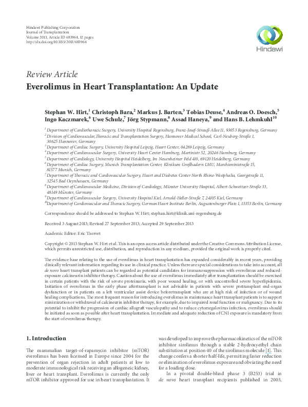 Position paper adult heart transplant