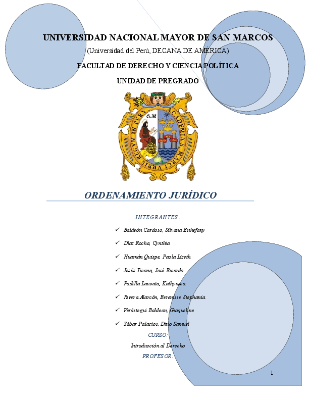 Doc Ordenamiento Jurídico Samuel Yábar Palacios