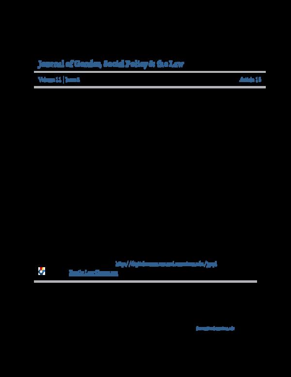 PDF) Domestic Violence, Child Custody, and Child Protection