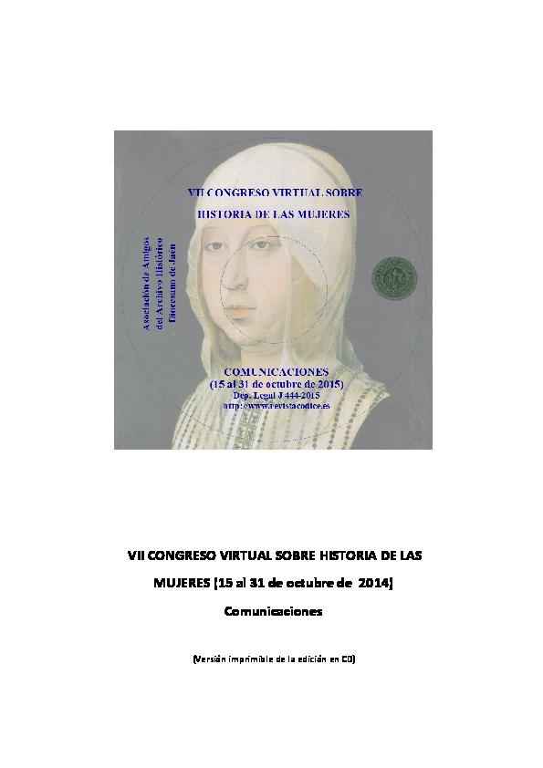 de2efd901df PDF) VII CONGRESO VIRTUAL SOBRE HISTORIA DE LAS