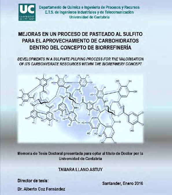 PDF) Developments in a sulphite pulping process for the valorisation