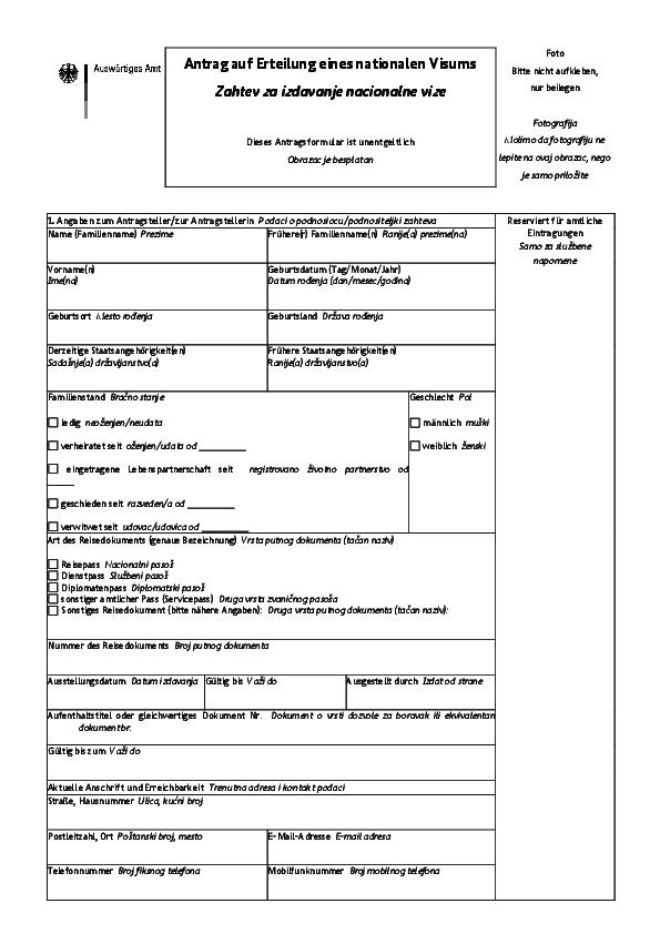 antrag auf erteilung einer aufenthaltserlaubnis