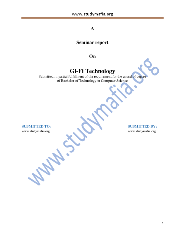 Gifi Wireless Technology Ebook Download